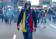 Venezuela protest photo
