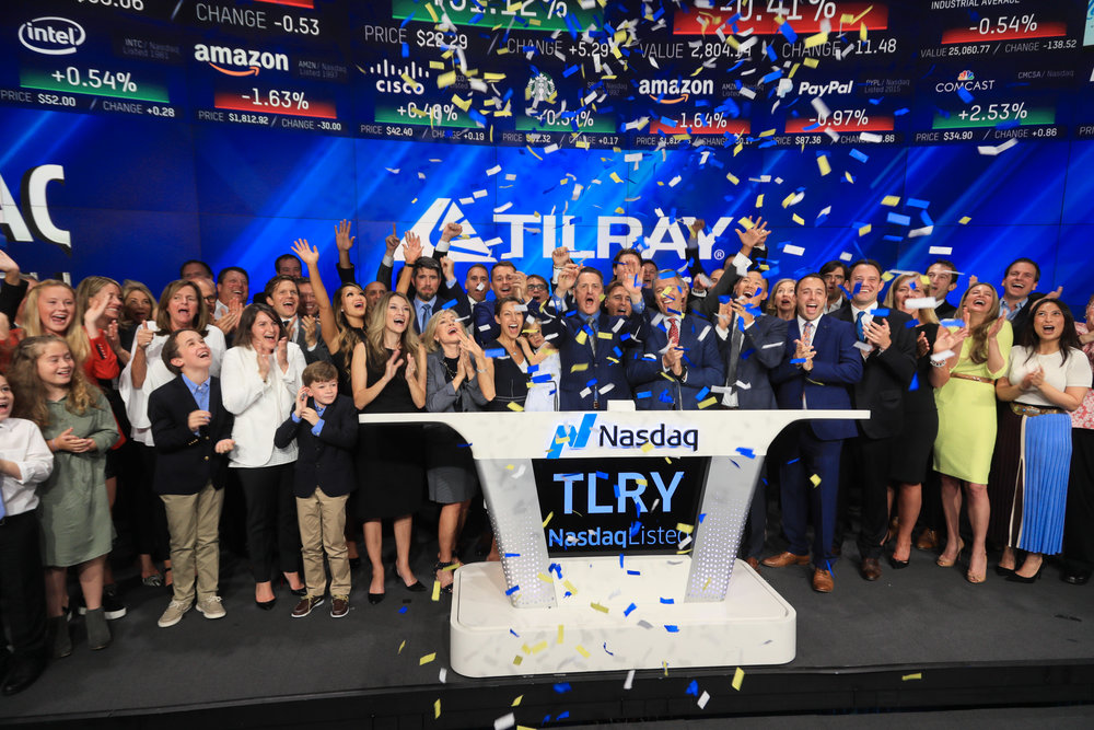 Tilray Inc Tlry Stock Shares Shoot Higher After Signing Cannabis Supply Agreement Warrior Trading News