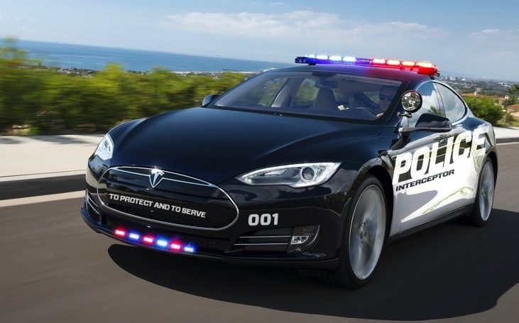Tesla Model S Police Car To Hit The Road Will Save