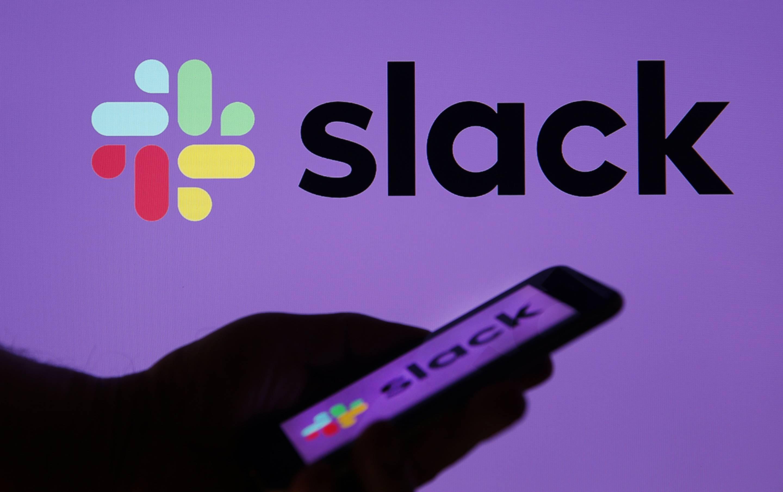 Slack ipo market share