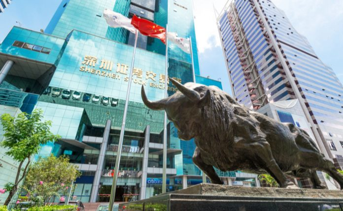 china stock exchange