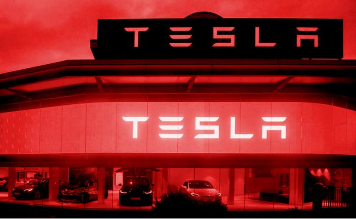 tesla shares tank 9  on earnings miss  despite having